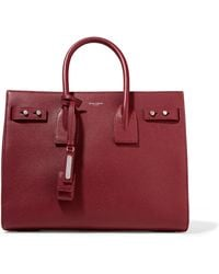 Saint Laurent - Sac De Jour Small Croc-Embossed Leather Tote - Lyst