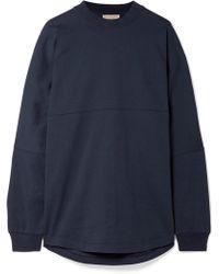 Burberry - Oversized Printed Cotton-jersey Sweatshirt - Lyst
