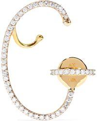 Ana Khouri - Lily 18-karat Gold Diamond Earring - Lyst