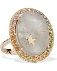 Andrea Fohrman - 14-karat Gold Multi-stone Ring - Lyst