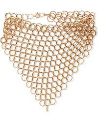 Saskia Diez - Gold-plated Bracelet - Lyst