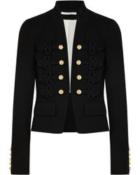 Veronica Beard - Band Embroidered Jersey Jacket - Lyst