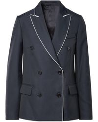 Golden Goose Deluxe Brand - Misam Double-breasted Twill Blazer - Lyst