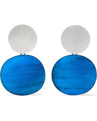 Annie Costello Brown | Skye Oxidized Silver Earrings | Lyst