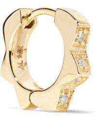 Alison Lou - Stelle 14-karat Gold Diamond Earring - Lyst