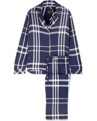 Rails - Checked Flannel Pyjama Set - Lyst