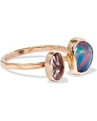 Melissa Joy Manning - 14-karat Gold, Opal And Tourmaline Ring - Lyst
