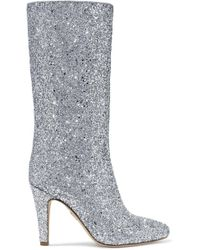 Brother Vellies - Elevator Glittered Leather Boots - Lyst