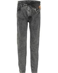 Y. Project - Asymmetric Straight-leg Jeans - Lyst