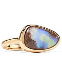 Kimberly Mcdonald - 18-karat Rose Gold Opal Ring - Lyst