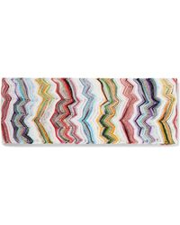 Missoni - Mare Metallic Crochet-knit Headband - Lyst