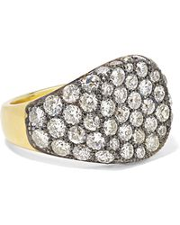 Sylva & Cie - 18-karat Gold Diamond Ring - Lyst