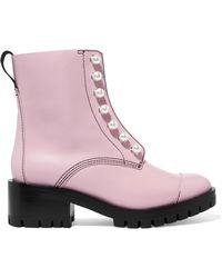 3.1 Phillip Lim - Hayett Lug Sole Boots - Lyst