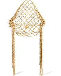 Rosantica - Aquilone Fringed Gold-tone Bracelet - Lyst