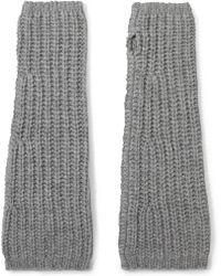 Johnstons - Cashmere Fingerless Gloves - Lyst