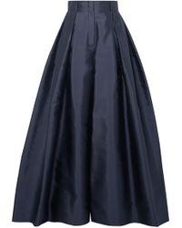 The Row - Garcia Silk-satin Wide-leg Pants - Lyst