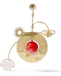 Ellery - Cornelius Gold-plated Resin Earrings - Lyst