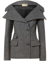 Antonio Berardi - Wool-blend Felt Jacket - Lyst