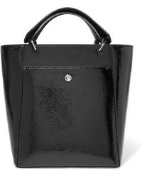 Elizabeth and James - Eloise Small Faux Patent-leather Tote - Lyst