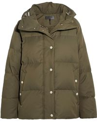 Rag & Bone - Leonard Lace-up Hooded Quilted Shell Down Jacket - Lyst