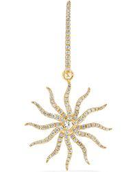Yvonne Léon - 18-karat Gold, Diamond And Sapphire Earring - Lyst