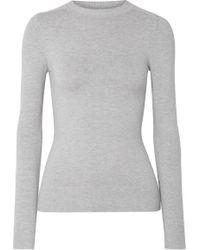 JoosTricot - Stretch Cotton-blend Sweater - Lyst