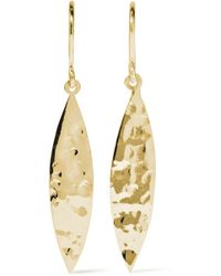 Jennifer Meyer - 18-karat Gold Earrings - Lyst