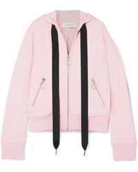 Marques'Almeida - Oversized Cotton-blend Jersey Hooded Top - Lyst