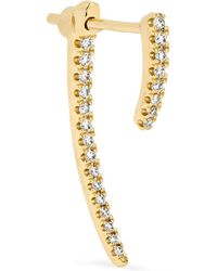 Maria Tash - Talon 18-karat Gold Diamond Earring - Lyst