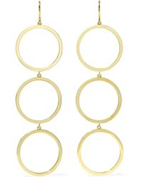 Jennifer Meyer - Open Circle 18-karat Gold Earrings - Lyst