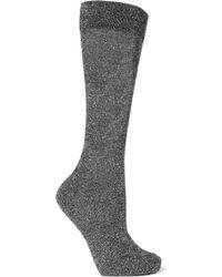 Isabel Marant - Mileya Lurex Socks - Lyst
