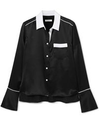 Equipment - Huntley Silk-satin Shirt - Lyst