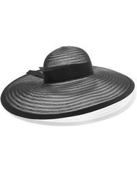 Eugenia Kim   Bunny Grosgrain-trimmed Mesh Hat   Lyst