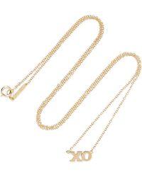 Jennifer Meyer - Xo 18-karat Gold Necklace - Lyst