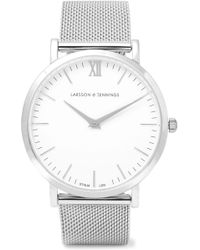 Larsson & Jennings - Lugano Silver-plated Watch - Lyst