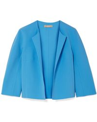 Michael Kors - Stretch-wool Crepe Jacket - Lyst
