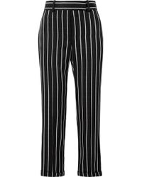Haider Ackermann - Striped Satin Straight-leg Pants - Lyst