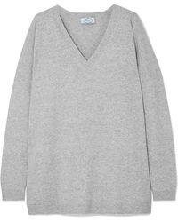 Prada | Oversized Wool Sweater | Lyst