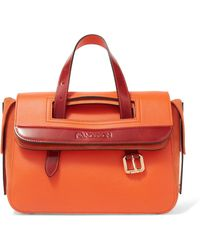 JW Anderson - Tool Mini Leather And Suede Tote - Lyst