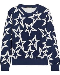 Perfect Moment | Starlight Printed Cotton-jersey Sweatshirt | Lyst