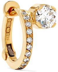 Sophie Bille Brahe - Emelie 18-karat Gold Diamond Earring - Lyst