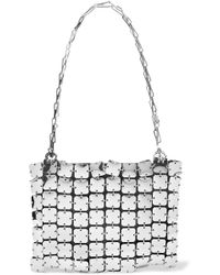 Paco Rabanne - Square 1969 Chainmail And Leather Shoulder Bag - Lyst