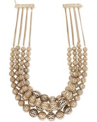 Rosantica - Innocenza Gold-tone Necklace Gold One Size - Lyst