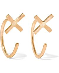 Melissa Joy Manning - 14-karat Gold Earrings - Lyst