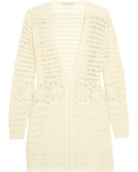 Tory Burch - Nerano Crocheted Cotton Robe - Lyst