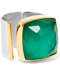 Katerina Makriyianni - Gold Vermeil And Silver Multi-stone Ring - Lyst
