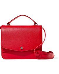 Elizabeth and James - Eloise Textured-leather Shoulder Bag - Lyst