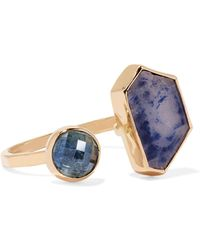 Melissa Joy Manning | 14-karat Gold Sapphire Ring | Lyst