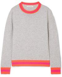 Chinti & Parker - Striped Cashmere Jumper - Lyst