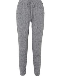 Eberjey - Bobby Camp Tapered Jersey Track Trousers - Lyst